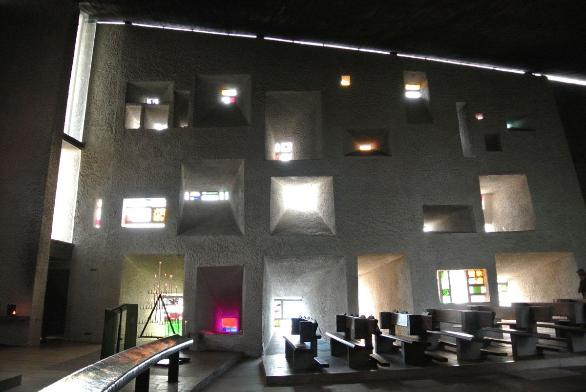 ロンシャン2-南面窓